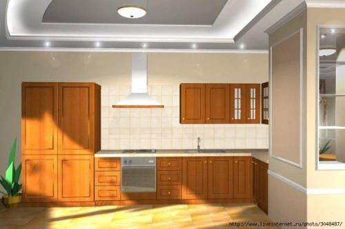 3d моделирование дизайн кухни дизайн