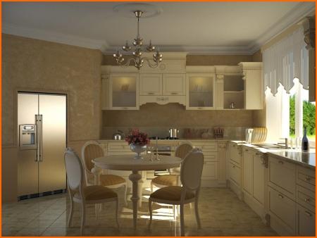 Кухня гостиная дизайн квартир кухня