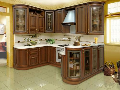 Дизайн интерьер кухонь фото