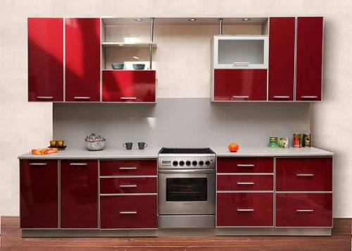 Дизайн кухни мдф
