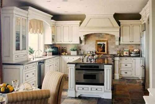 Кухня интерьер деревянного дома кухня
