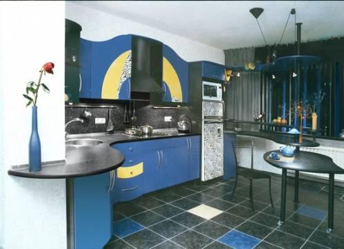 Фото кухня 14 метров дизайн кухня