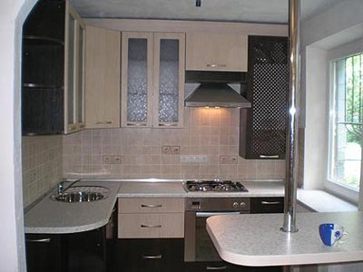 Кухня 3х3 дизайн